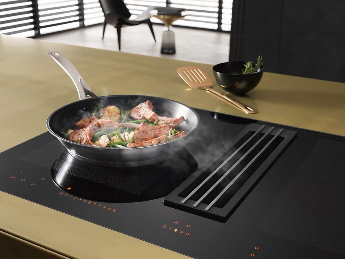 miele kmda 7774 fl plaque de cuisson induction avec. Black Bedroom Furniture Sets. Home Design Ideas