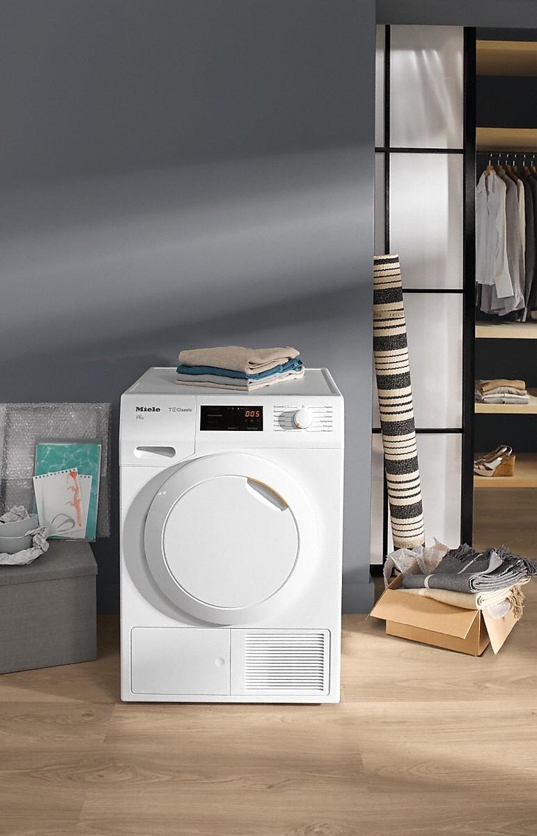 miele tdb130wp eco s che linge pompe chaleur t1 classic. Black Bedroom Furniture Sets. Home Design Ideas