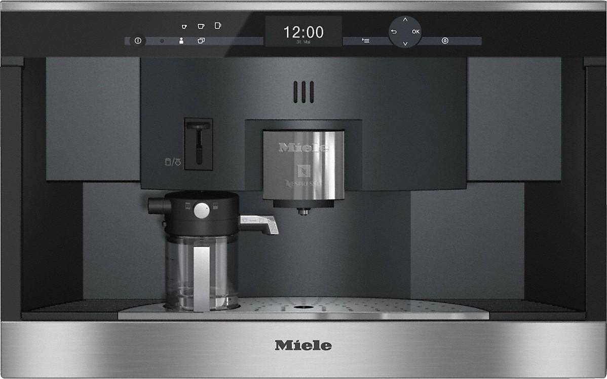 Cva 6431 Einbau Kaffeevollautomat Mit Nespresso System Für Unkomplizierten Komfort Und Genuss In